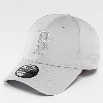 New Era Flexfitted Cap MLB League Essential Boston Red Sox grau