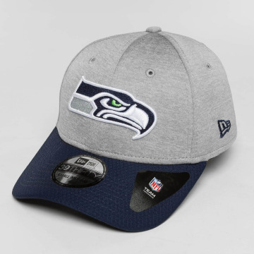 New Era Flexfitted Cap Seattle Seahawks grau