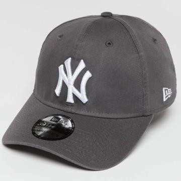 New Era Flexfitted Cap Washed NY Yankees 39Thirty grey