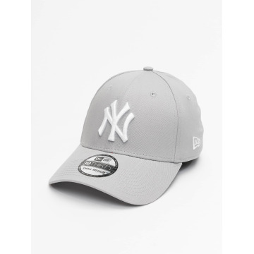 New Era Flexfitted Cap League Basic NY Yankees 39Thirty grey