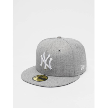New Era Gorra plana MLB League Basic NY Yankees 59Fifty gris