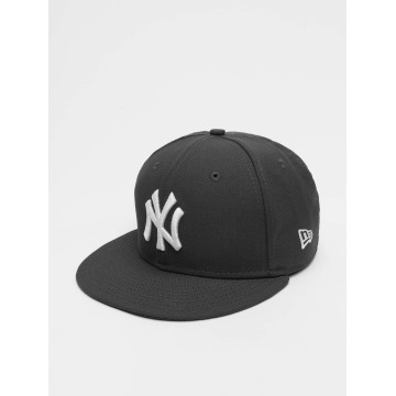 New Era Gorra plana MLB Basic NY Yankees 59Fifty gris