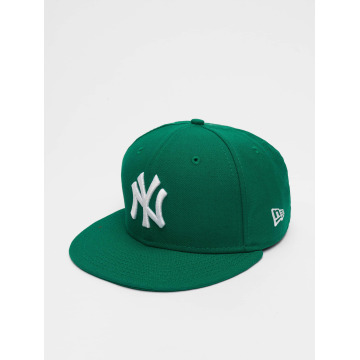 New Era Gorra plana MLB Basic NY Yankees 59Fifty verde