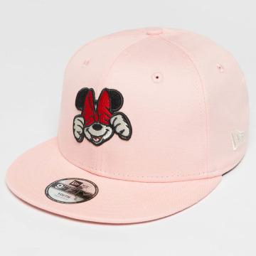 New Era Gorra Snapback Disney Xpress Minnie Mouse fucsia