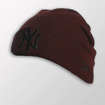 New Era Hat-1 Seasonal Cuff NY Yankees red