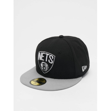 New Era Hip hop -lippikset NBA Basic Brooklyn Nets 59Fifty musta