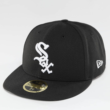 New Era Hip hop -lippikset Authentic Performance Low Crown Chicago White Sox musta