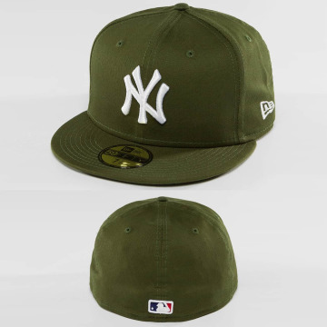 New Era Hip hop -lippikset League Essential NY Yankees 59Fifty vihreä