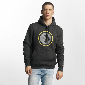 New Era Hoodie Two Tone Pop Pittsburgh Steelers gray