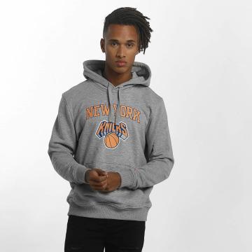 New Era Hoody Team Logo NY Knicks grijs