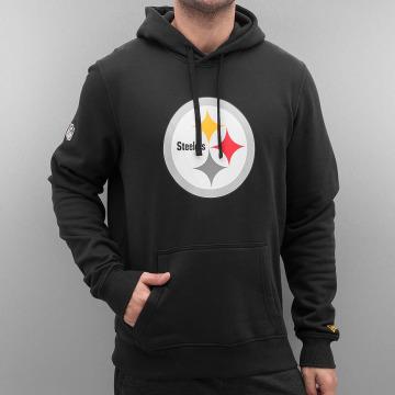 New Era Hupparit Logo Pittsburgh Steelers musta