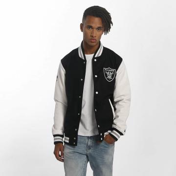 New Era Lightweight Jacket Team Apparel Varsity Oakland Raiders black