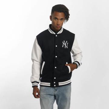 New Era Lightweight Jacket Team Apparel Varsity NY Yankees blue