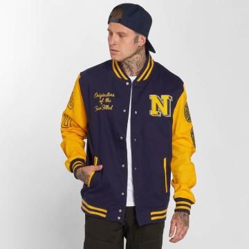New Era Lightweight Jacket Summer Varsity College blue