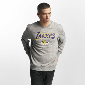 New Era Pullover Tip Off LA Lakers grau