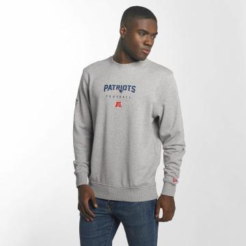 New Era Pullover Team Apparel New England Patriots gray