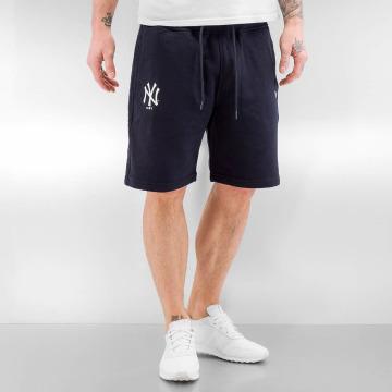 New Era shorts Team Apparel blauw