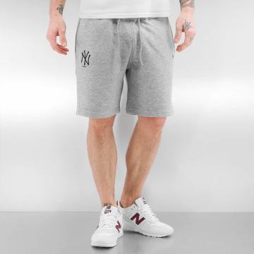 New Era shorts Team Apparel NY Yankees grijs