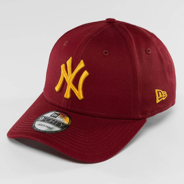 New Era Snapback New Era League Essential NY Yankees 9Forty èervená