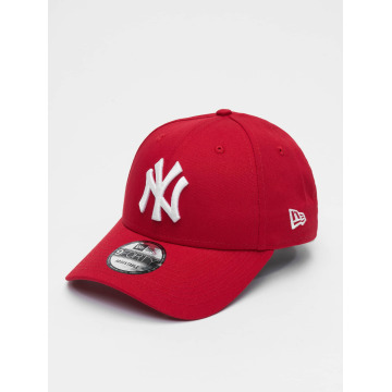 New Era Snapback League Basic NY Yankees 9Forty èervená
