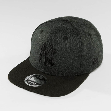 New Era Snapback Seasonal Heather NY Yankees šedá