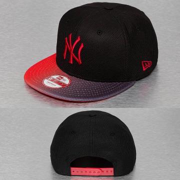 New Era Snapback Cap Grade Visor NY Yankees black