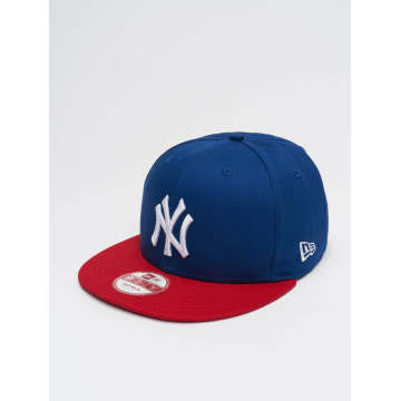 New Era Snapback Cap MLB Cotton Block NY Yankees blau