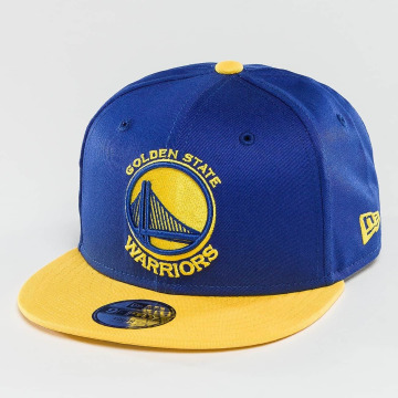 New Era snapback cap NBA Team Golden State Warriors blauw