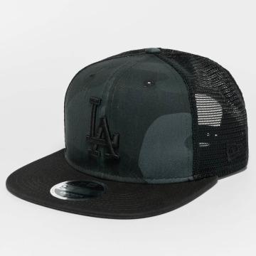 New Era snapback cap Washed Camo LA Dodgers camouflage
