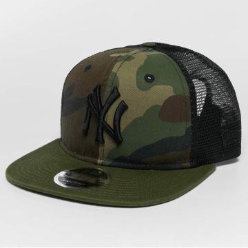 New Era snapback cap Washed Camo NY Yankees camouflage