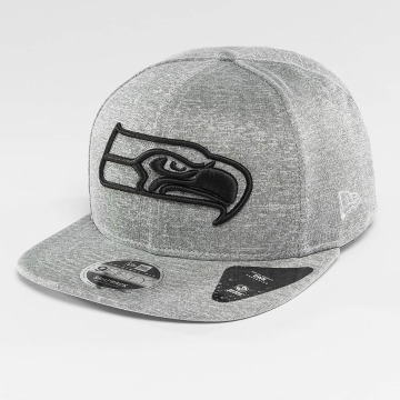 New Era Snapback Cap Jersey Tech Seattle Seahawks 9Fifty grau