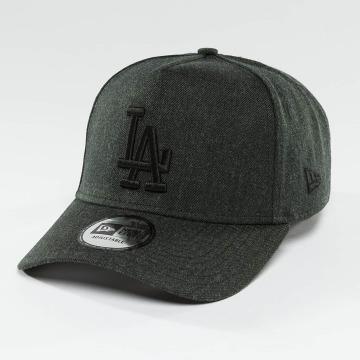 New Era Snapback Cap Seasonal Heather Aframe LA Dodgers grau