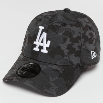 New Era Snapback Cap Camo Team LA Dodgers grau