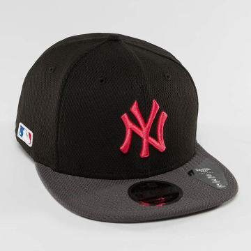 New Era Snapback Cap Diamond Pop NY Yankees 9Fifty grau