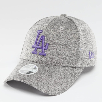New Era Snapback Cap Tech Jersey LA Dodgers  9Forty gray