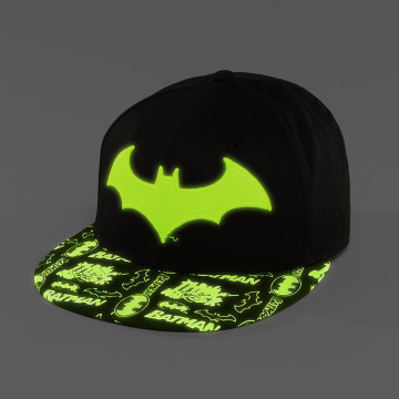 New Era Snapback Cap GITD Character Batman 9Fifty nero
