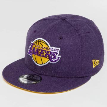 New Era snapback cap Team Heather LA Lakers paars