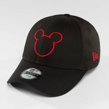 New Era Snapback Cap Disney Silhoutte Micky Maus JR schwarz