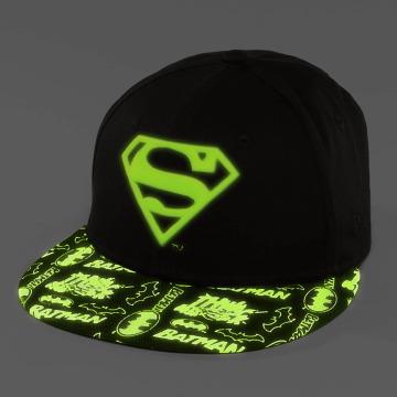 New Era Snapback Cap GITD Character Superman 9Fifty schwarz