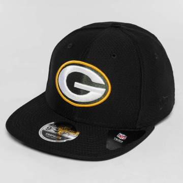 New Era Snapback Cap Dryera Tech Green Bay Packers schwarz