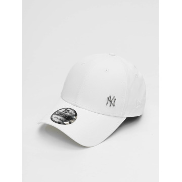 New Era Snapback Cap Flawless Logo Basic NY Yankees weiß