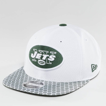 New Era Snapback Cap NFL On Field NY Jets 9Fifty weiß