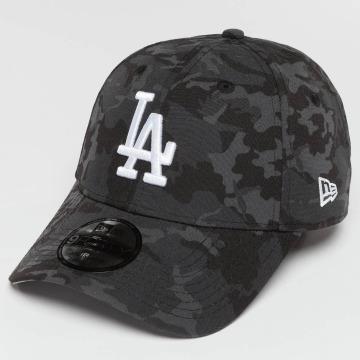 New Era Snapback Caps Camo Team LA Dodgers šedá