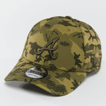 New Era Snapback Caps Seasonal Camo Atlanta Braves9Forty camouflage
