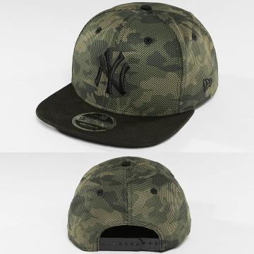 New Era Snapback Caps Mesh Overlay camouflage