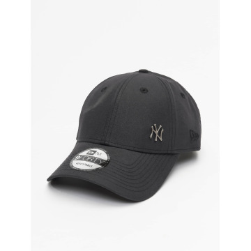 New Era Snapback Caps Flawless Logo Basic NY Yankees 9Forty czarny