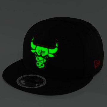 New Era Snapback Caps Team GITD Basic Chicago Bulls 9Fifty czarny