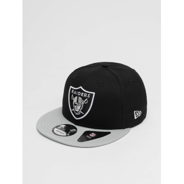 New Era Snapback Caps Super Oakland Raiders czarny