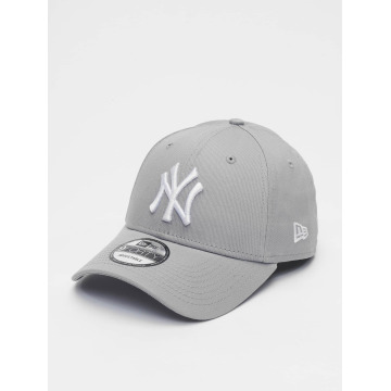 New Era Snapback Caps League Basic NY Yankees 9Forty grå