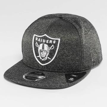New Era Snapback Caps Jersey Tech Oakland Raiders 9Fifty harmaa